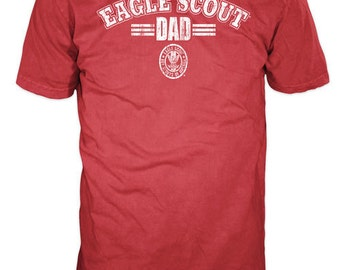 Eagle Scout Dad T-Shirt | Eagle Court of Honor Scout Dad Shirt | Eagle Scout Dad Gift | Official BSA Licensed Gear
