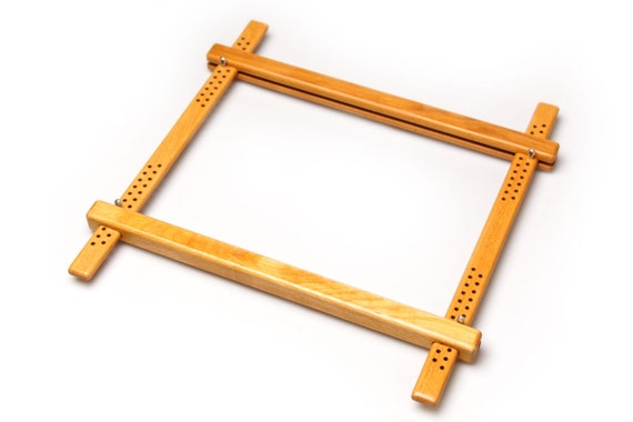 400mm 1575 Wood Embroidery Slate Frame For Fine