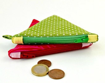 Coin Purse Pattern / Sewing Pattern / PDF Sewing Pattern / Zipper Pouch / Small Purse / Change Purse / Coin Pouch, Zipper Wallet PDF Pattern