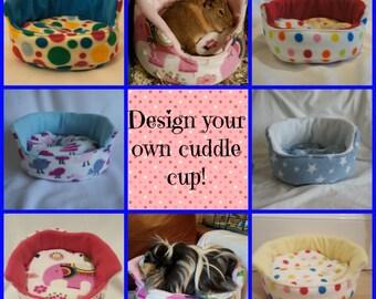 Guinea Pig Cuddle Cup CUSTOM ORDER