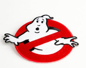 Ghostbusters Inspired Patch Iron On Sew On