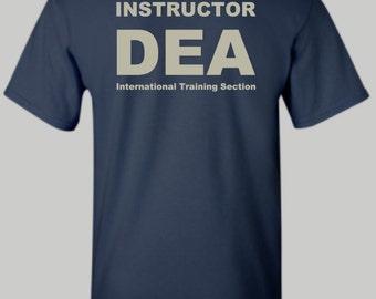 DEA Instructor - International Training Section Shirt, DEA Shirt, Hoodie, Long sleeve, Tshirt