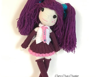 Feelia, doll crochet
