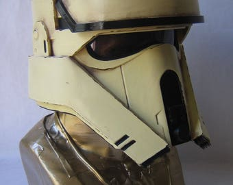 Accurate Star Wars Rogue One Scarif Shoretrooper Helmet Forjadict3d Replica