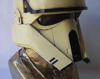 Accurate Star Wars Rogue One Scarif Shoretrooper Helmet Forjadict3d Replica