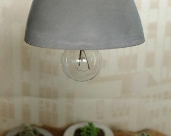 Cement suspension lamp
