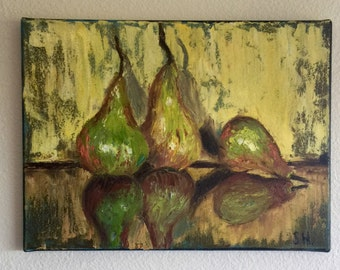 Just Pears 12x16