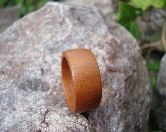 Wooden Ring (8 1/2) Apple Wood Ring/Sweetness/Handemade/Self-Acceptance/Simplicity/Natural Jewelry/Nature Ring/Ring/AppleTree/FromHerTrees