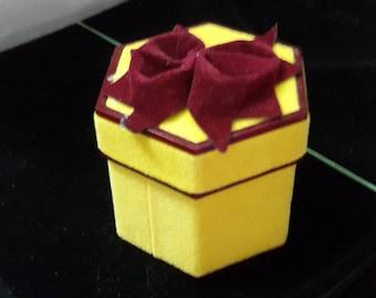 Engagement Ring Box, Vintage Ring Box, Proposal Ring Box, Wedding Ring Box, Ring Box, Ring Bearer Box, Vintage Style Ring Box