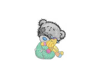 Baby Tatty Teddy Bear, Me to you Embroidery Design - Machine Embroidery Design