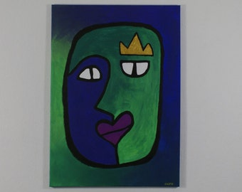 Queen of balance | Artwork | Painting | Acrylic painting