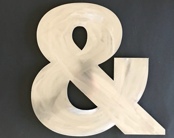 Ampersand Sign, Metal Ampersand, Ampersand Wall Decor, And Sign, Ampersand Metal Wall Art