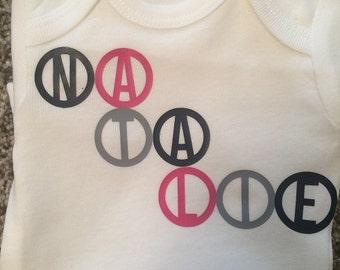 Circle Name Shirt