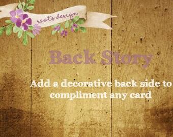 Decorative Backside