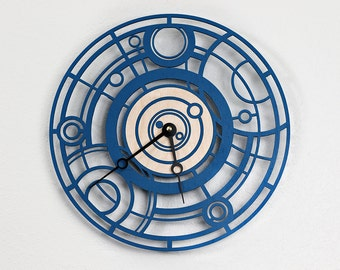 Doctor Who Gallifreyan Wall Clock