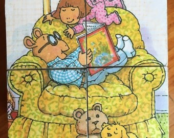 Wooden Block Puzzle - Arthur by Marc Brown