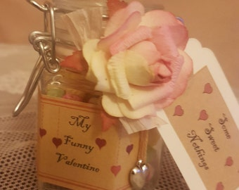 Individual Personalised Vintage Inspired Valentines Sweets
