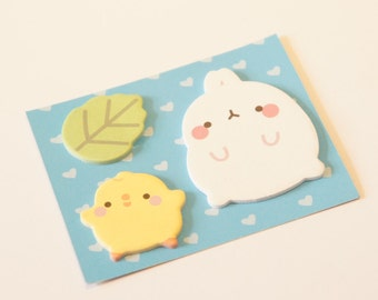 Kawaii easter/spring sticky notes