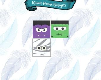Monster Mash - Halloween File - Halloween Monsters - Digital Download - SVG Cut Files - EPS Cut Files - Cameo Cut File - Cricut Cut File