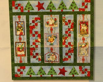 Snow Flurries by Clothworks quilt kit