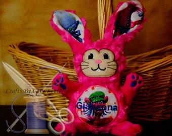 Trolls Inspired Stuffed Bunny Rabbit