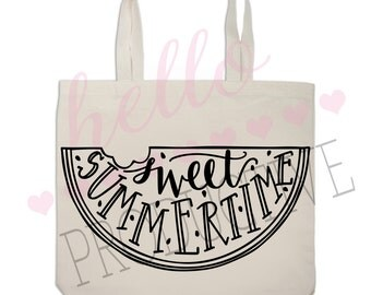 Sweet Summertime Tote Bag
