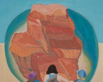 "Adventure Girls Painting 8x10"""