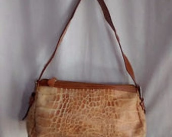 The trend crocodile leather handbag model hobo