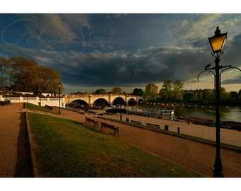 Richmond Bridge | Landscape Photography | Richmond upon Thames | River Thames | Photographic Print | Fine Art Print | Photo | Patrick Steel