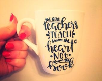 Coffee Mugs   Teaching   Teacher Gift Idea   Ceramic Mug   Porcelain   Quote Mug   Pretty Little Pressies   Unique Coffee Mug