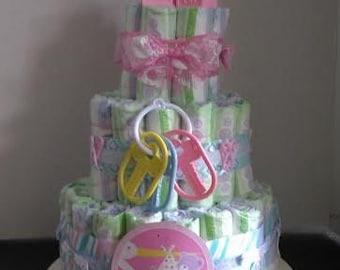 Toy Box Diaper Cake