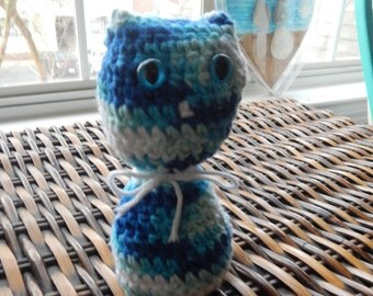 Crochet stuffed cat