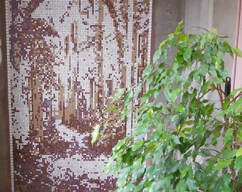 Wall décor of mosaic « Arch»