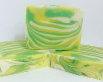Lemongrass Lime Soap