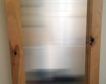 24x38 Mirror [Maple, Padauk]