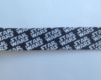 "7/8""  Star Wars  inspired Grosgrain Ribbon  -  By The Yard"