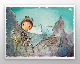 King Arthur Seat - poster
