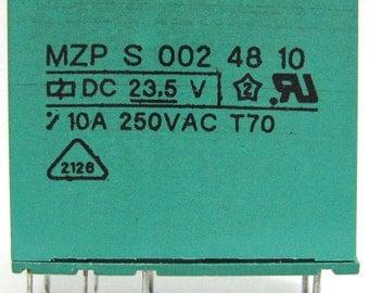 Feme relay 23.5Vdc model MZP S 002 48 11