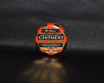 Vintage McNess Ointment Tin