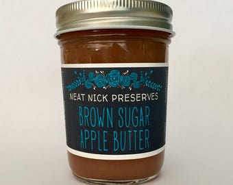 Brown Sugar Apple Butter