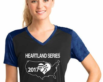 CamoHex Colorblock T-Shirt [Women's] - Heartland Series