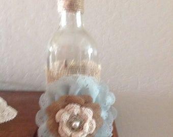 Decorative Wine Bottle Vase
