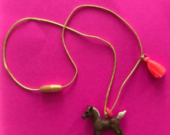 Frannie Foal Necklace