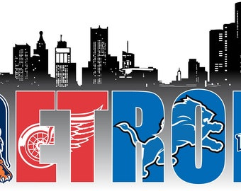 City of Detroit Decal