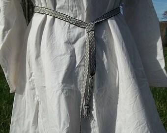 Hand made cotton braid belt