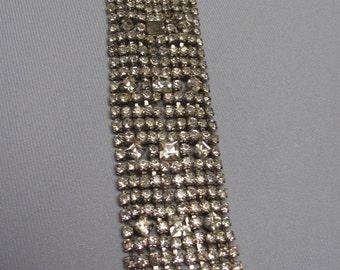Vintage Rhinestone Bracelet.