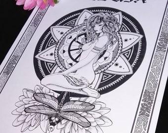 Medusa reincarnation poster printing