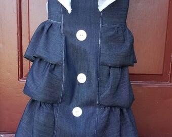 Girls Custom Long Denim/Jean Skirt
