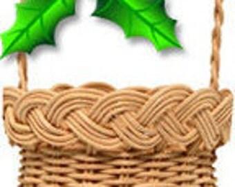 Christmas Ornament Basket Kit