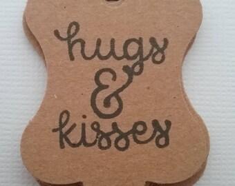Hugs & Kisses Gift Tags